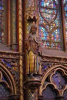 At Sainte Chapelle, Paris,
