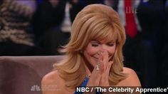 "Feb. 17, 2015:  Leeza Gibbons becomes Donald Trump's second female Celebrity Apprentice [Joan Rivers being the first]. -   You're hired! There's officially a new winner of ""The Celebrity Apprentice,"" and we can finally add another female victor to the show's list.  ""The ..."