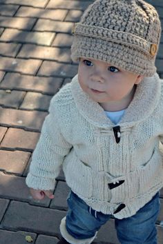 Cozy sweater and hat for the winter months