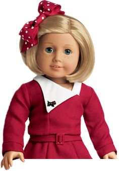 We love American Girl dolls.