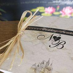 fairytale castle wedding stationery range by bedcrumb   notonthehighstreet.com