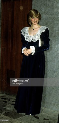 Princess Diana at Festival Hall, January 1983