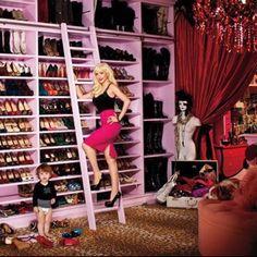 Inside Christina Aguilera's Closet