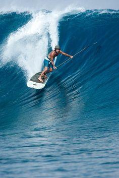 Paddle Surfing #surfing http://www.blueprinteyewear.com/