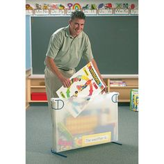 Poster Storage Box File N Save And Clroom Organization