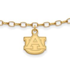 GP Auburn University Anklet -- Details can be found by clicking on the image.(This is an Amazon affiliate link and I receive a commission for the sales)