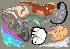 iguanas part 2 by FancyHatShop.deviantart.com on @DeviantArt