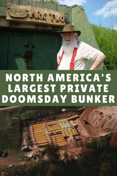 Man Buries 42 School Buses to Build North America's Largest Private Doomsday Bunker - Survivalist Bruce Beach has been building and maintaining North America's largest private nuclear bunker for the last 37 years. #survival #preparedness #shtf #bunker #diybunker