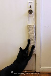 sisal rope - hanging scratch post