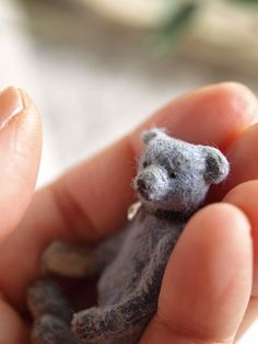 hand sewn bear