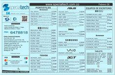 lista-de-precios-specialtech-febrero-26-de-2013 by Specialtech Octavio Gonzalez via Slideshare