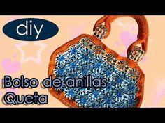 Como hacer una bolsa de fichas: Bolso Queta parte 3 - YouTube