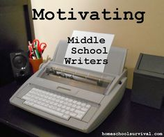 learning table: how to get your middle schooler to love writing!