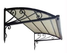 Very interesting idea IRON AND GLASS AWNING - Google'da Ara