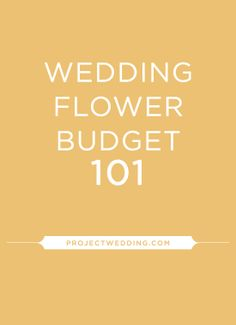 Learn how to spend on flowers for your wedding
