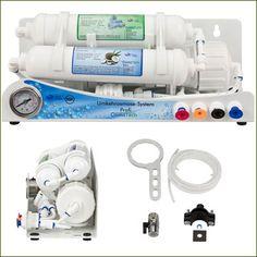 Profi - der neuentwickelte Umkehrosmose Wasserfilter im handlichen Format   Möchtest Du täglich in den Genuss von purem und reinstem Wasser kommen? Dann ist der Profi Umkehrosmose...