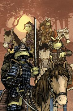 TMNT - Turtles in Time #2 by David Peterson *