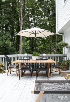 Modern Country Colonial Deck Styling tips and inspiration. 2019 Modern Country Colonial Deck Styling tips and inspiration. The post Modern Country Colonial Deck Styling tips and inspiration. 2019 appeared first on Deck ideas.