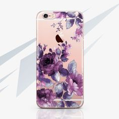 iPhone 6 Phone Case Flower iPhone 7 Plus Case Floral iPhone 5 Phone Case Transparent iPhone 6 Plus Case Clear iPhone SE Case Samsung 0022
