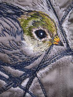 Tara Badcock for Planet Commonwealth- Thornbill cushion cover 2012 detail | Flickr: partage de photos!