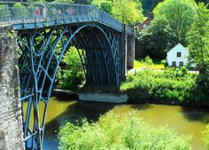 Iron Bridge, Shropshire, England