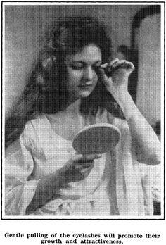 Make Eyelashes Grow, Waves Iron, 1920s Hairstyles, Marcel Waves, Finger Waves, Hair Brush, Silver Hair, Hair Accessories, Long Hair Styles