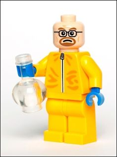 """""""Chemistry Enthusiast"""" from Citizen Brick, makers of custom, totally unauthorized lego people."""
