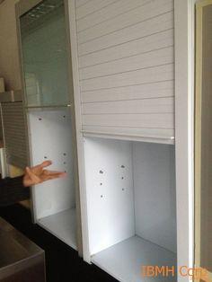 armario persiana cocina - Buscar con Google | Modern kitchens ...