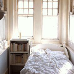 The studio reading corner