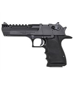 Shop Magnum Research Desert Eagle Mark XIX Mag Semi Auto Handgun Barrel 8 Rounds Integral Muzzle Brake Weaver Top Rail Synthetic Grips Black and more from Cheaper Than Dirt! 357 Magnum, Weapons Guns, Guns And Ammo, Rifles, Baby Desert Eagle, Protection Rapprochée, Magnum Research, Cool Guns, Tactical Gear