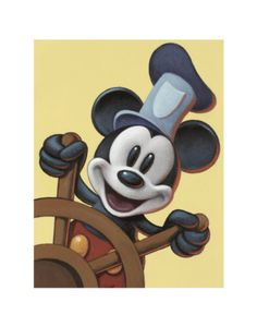 I love Micky, I think it's kismet that I share my forthieth birthday with that AWESOME mouse.