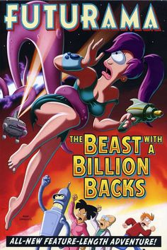 Futurama The Beast with a Billion Backs - 2008 Enter the vision for. Animation Type and Films Original is name Futurama The Beast with a Billion Backs. Top Movies, Movies To Watch, Movies And Tv Shows, Phil Lamarr, Katey Sagal, Back Photos, Dibujo, Animation Movies, The Simpsons
