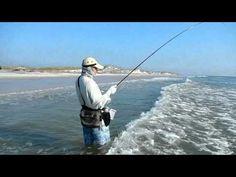 Fly Fishing Jacksonville Beach Surf for redfish