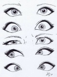 Disney Cartoon Eyes Drawing More - Eyes . - Makaron - Disney Cartoon Eyes Drawing More Eyes - Drawing Eyes, Drawing Sketches, Cool Drawings, Painting & Drawing, Sketching, Cute Drawings Tumblr, Easy Eye Drawing, Manga Drawing, Comic Book Drawing