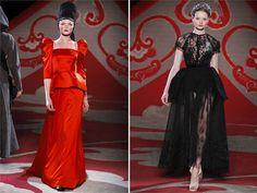 Rhoda's party dress---Ulyana Sergeenko Fall 2012
