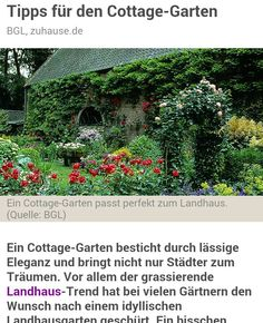 Cottage Garten Inspiration