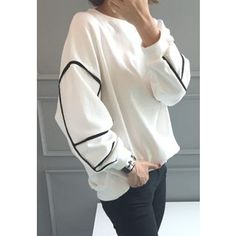 Buy 'STYLEBYYAM – Round-Neck Piped Sweatshirt' with Free Shipping at YesStyle.com.au. Browse and shop for thousands of Asian fashion items from South Korea and more!