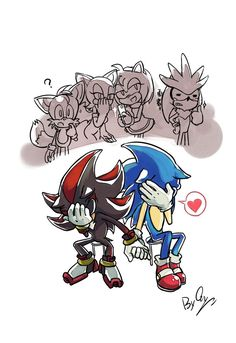 20121201 by ShadeShark on DeviantArt Shadow The Hedgehog, Sonic The Hedgehog, Silver The Hedgehog, Zodiac Characters, Sonic Fan Characters, Leonardo Tmnt, Shadow And Amy, Sonic Funny, Sonic Franchise