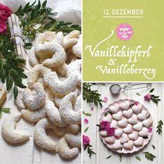 Kekserl-Adventskalender: 24 Keksrezepte zum Downloaden - sugar&rose Cookies, Rose, Desserts, Handy Tips, Advent Calenders, Crack Crackers, Tailgate Desserts, Pink, Deserts