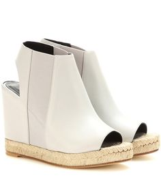 Balenciaga Rope Leather Wedges For Spring-Summer 2017