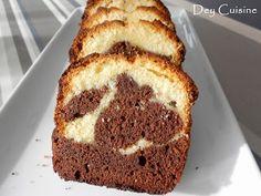 Dey cuisine: Gâteau marbré comme le Savane C'est Bon, Kids Meals, Comme, Banana Bread, Desserts, Cakes, Drinks, Food, Chocolate Cups