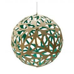 The Floral Pendant Light is available in a choice of five sizes and nine stock colours.Custom colours available on request. This intricately carved shade plays with lights and shadows providing beautiful patterns on surrounding walls