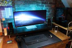 Finished my new setup, LG 34UM95 completes it. : ultrawidemasterrace