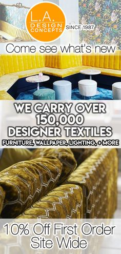"Enjoy designer fabric online & online upholstery fabric at L. We sell all ""Trade Brands"" of furniture and lighting directly to consumers. Reupholster Furniture, Furniture Making, Home Furniture, Furniture Design, Furniture Stores, Fabric Wallpaper, Home Repair, Fabric Online, Fabric Design"