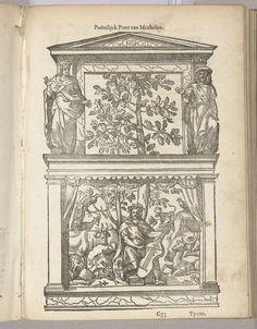Anonymous | Blazoen van De Peoene (Mechelen), 1561, Anonymous, 1561 - 1562 | Blazoen van De Peoene, rederijkerskamer te Mechelen. Voor het Landjuweel van Antwerpen in 1561.