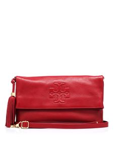 f8830bb5493 Big bag foldover clutch tassel decorates the side, to be carried on hand, as