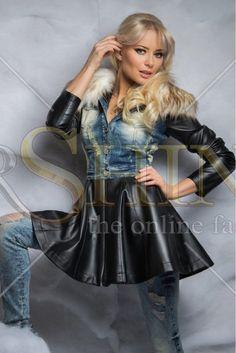 Mexton Great Bond Black Overcoat
