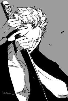 Roronoa Zoro, Zoro Nami, Zoro One Piece, One Piece Anime, Good Manga, My Daddy, Character Design, Sketches, Nerd Stuff