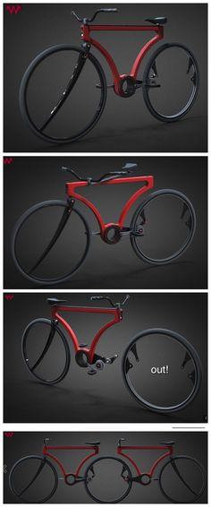 Minimalism. Turn your bike into a tandem