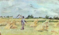 The Wheatfield - Ion Andreescu Art Database, Artwork, Google, Harvest, Europe, Hands, Paintings, Art, Czech Republic